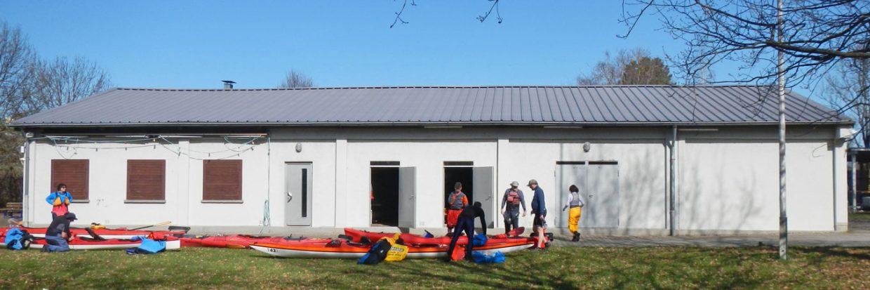 Bootshaus des Rastatter Kanu Club