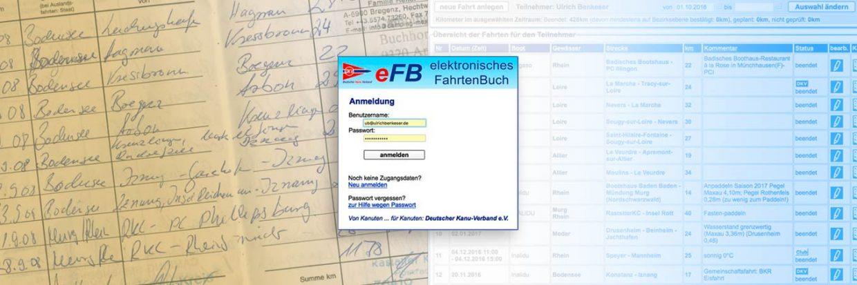 Papierfahrtenbuch und eFB