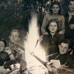 Lagerfeuerromantik um 1950